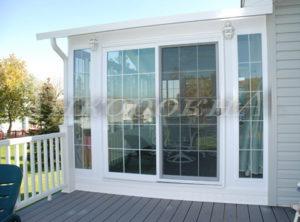 двери и окна система патио в спб для дачи