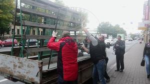 доставка больших стекол в магазины