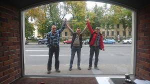 монтаж витрин в магазинах петербурга