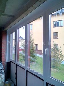 двухцветные окна фото