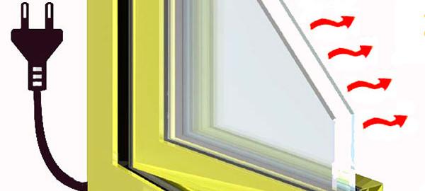 окно с подогревом