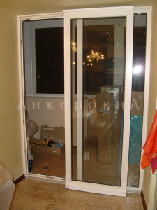 раздвижные двери-порталы на балкон, лоджию в спб