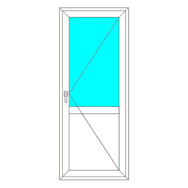 входная пвх дверь на заказ в спб