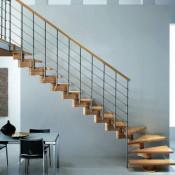 лестницы поворотные маршевые купить на заказ в спб