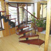 модульная лестница для дома в СПб