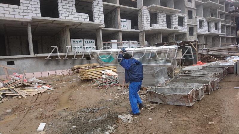 остекление балконов в строящемся доме
