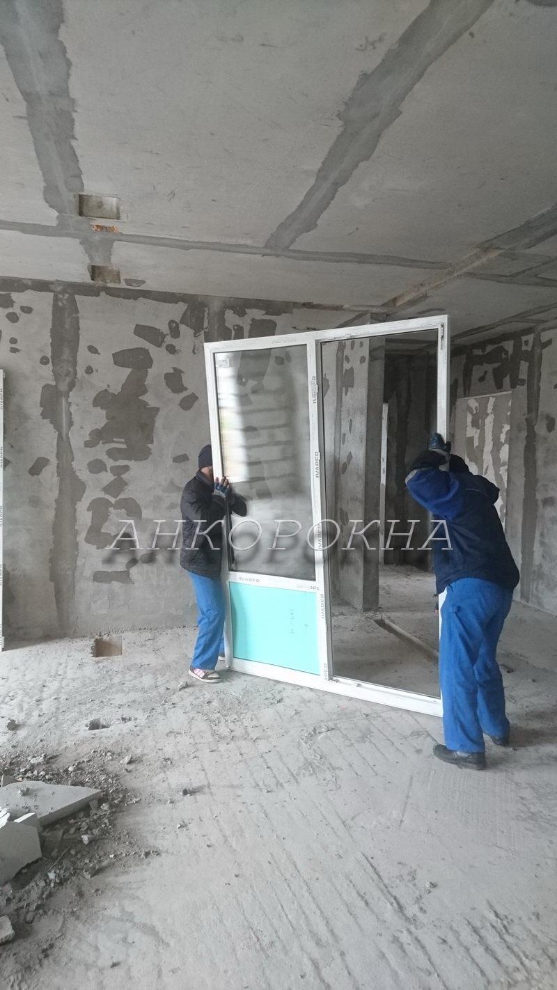 работы по фасадному остеклению в строящихся домах