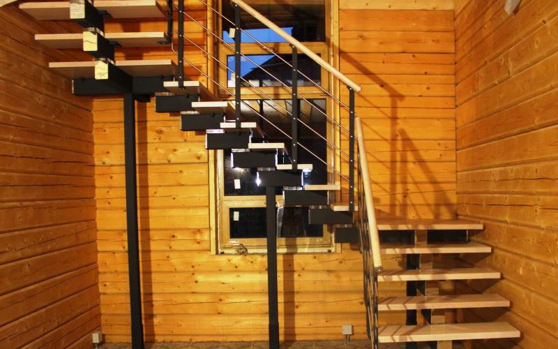 деревянные лестницы премиум класса на заказ из италии