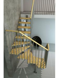 модульные лестницы премиум класса на заказ из италии