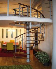 современные винтовые лестницы на заказ