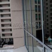 Остекление балкона Ушаковская