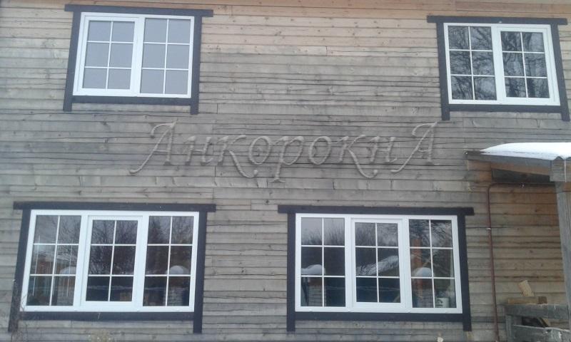Окна со шпросами - заказ Вартемяги