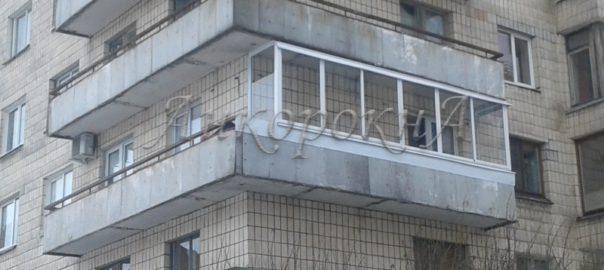 Остеклен балкон фото
