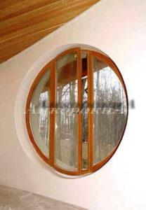 круглые окна дизайн