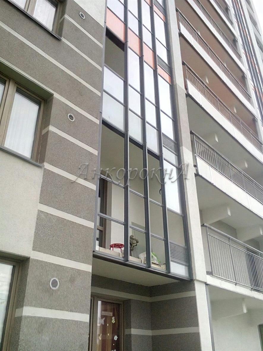 Установка теплых окон на втором этаже СПб