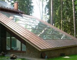Фото остекления крыши