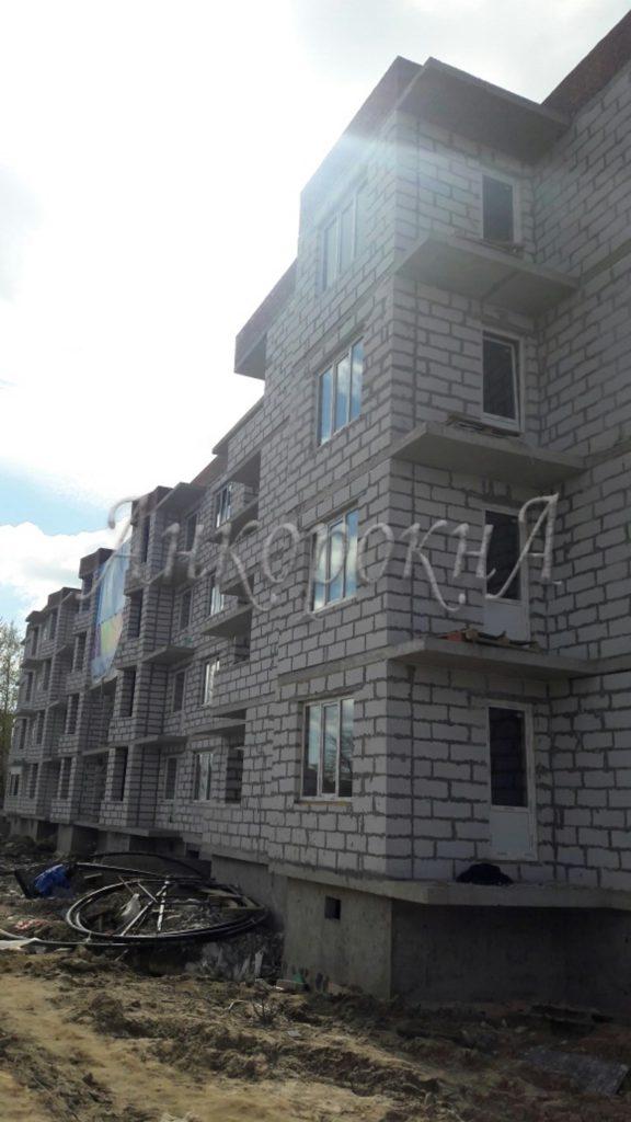 Ход строительства в Щеглово
