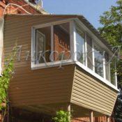 Заказать балкон с выносом