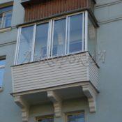 балкон с выносом в СПб
