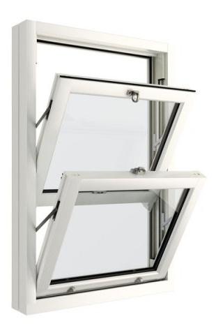 опция наклона рамы в вертикальных английских окнах