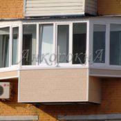 балкон с выносом заказать в СПб