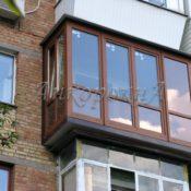 балкон с выносом фото в Ленобласти