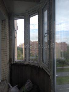 эркерные окна на балконе пример