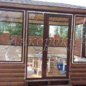стеклянные двери в Горелово