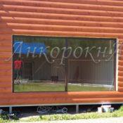 изготовление панорамного окна большого размера в Ленобласти