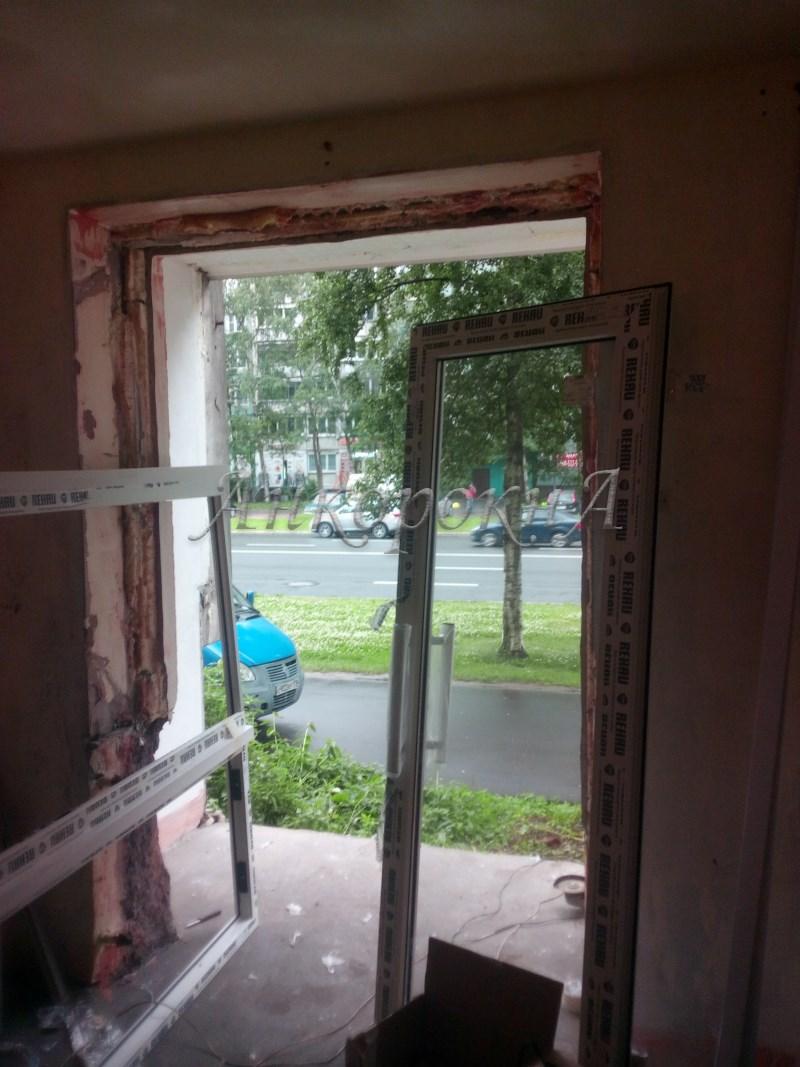 установка дверей СПб