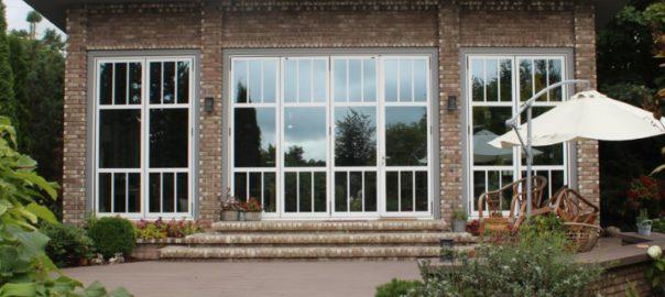 Дерево-алюминиевые окна REYNAERS