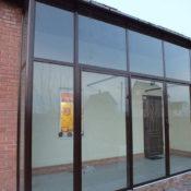 Сдвижные алюминиевые теплые окна и двери Алютех ALT GS106 фото