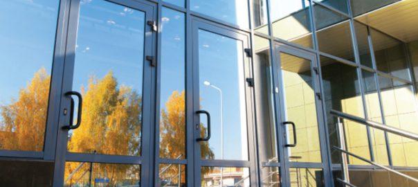 Алюминиевые двери Алютех ALT GS106