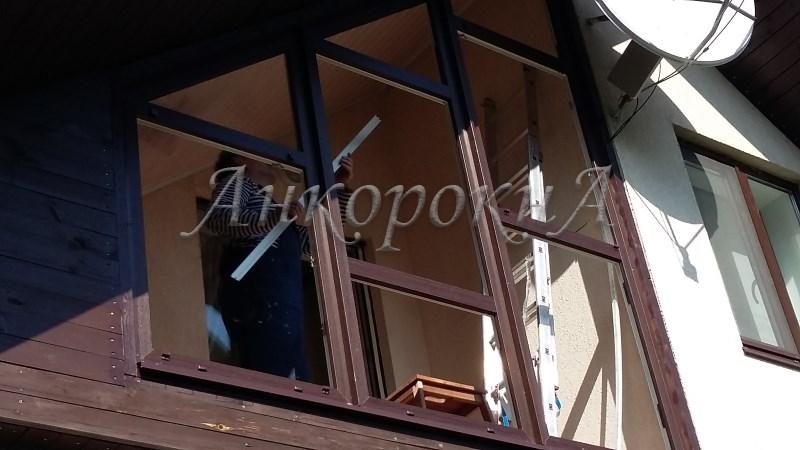 треугольное окно изготовить в СПб
