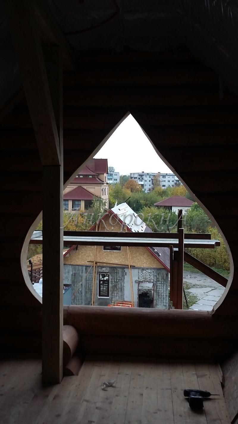луковидное окно по заказу