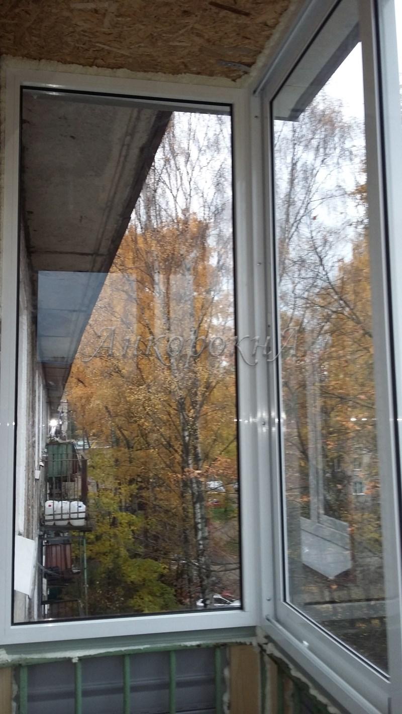 остекление балкона на 5 этаже фото