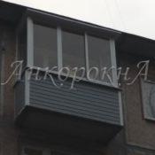 обшивка утепление балкона в СПб фото