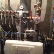 монтаж труб отполения и водоснабжения горячей и холодной воды