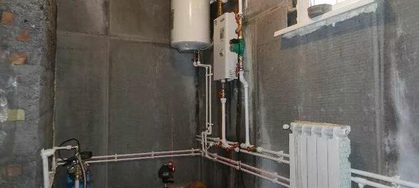 монтаж отопления и водоснабжения частных домов в спб