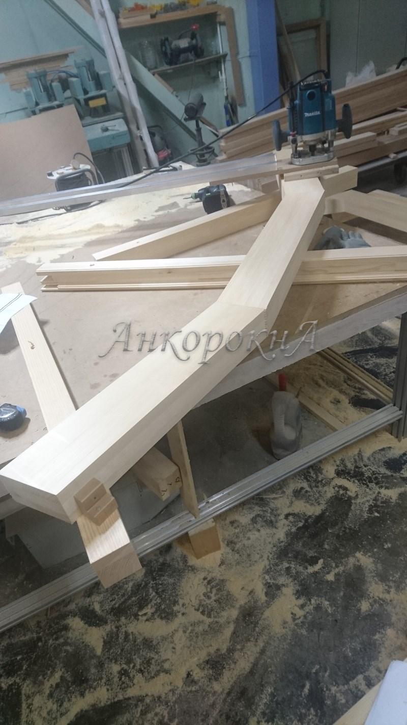 изготовление деревянных окон в Ленобласти фото процесса