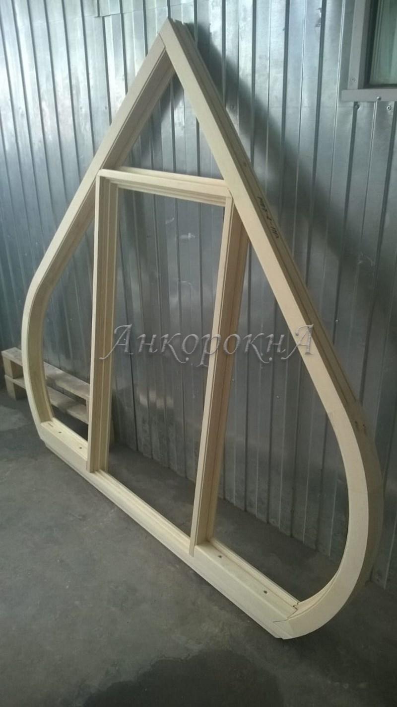 заготовка окна перед монтажом в Ленобласти