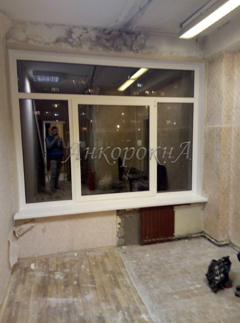 монтаж окна фото работ в СПб