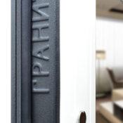 Стальная дверь с зеркалом Т3М фото