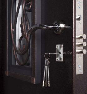 бронированная дверь Гранит Коттедж фото