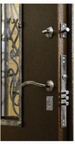 усиленная ручка двери Гранит Коттедж фото
