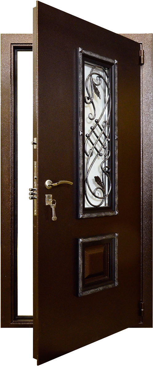 стальные двери Гранит Коттедж в СПб фото
