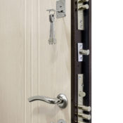установить входные двери Гранит М2 Люкс фото