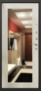 дверь Ультра 8 Комфорт с зеркалом в СПб фото
