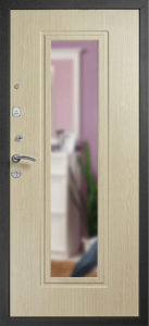 входная дверь с зеркалом Гранит Ультра Престиж фото