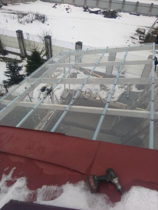 Панорамная крыша на Невской Дубровке фото